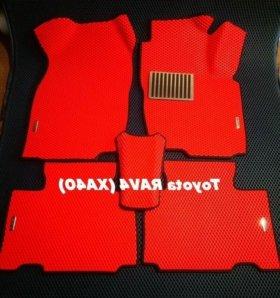 Коврики ЕВА для Toyota RAV4 (XA40) правый руль