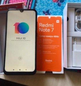 Xiaomi Redmi Note 7 4/64gb Black. Global version