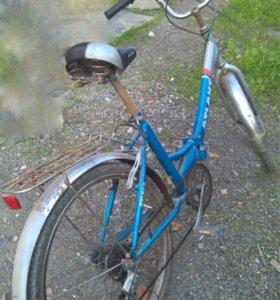Городской скоростной велосипед.