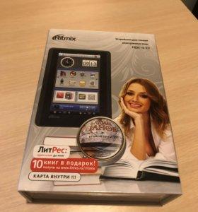 Электронная книга Ritmix RBK-433