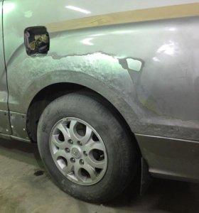 Кузовной ремонт. Жестяные работы.Покраска авто.