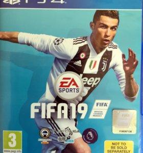Игра Fifa 19 (PS4) - английская версия