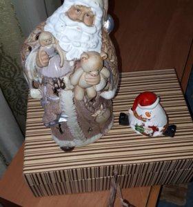 "Подсвечник ""Дед Мороз"""