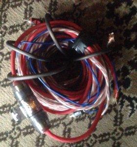 Провода для подключения саба