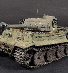 Модель танка Tiger I № 332 из 503 ттб
