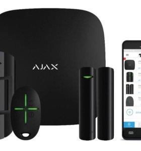 Комплект LAN/GSM сигнализации Ajax StarterKit