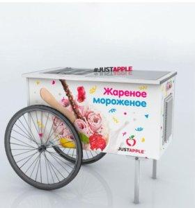 Действующий бизнес. Продажа жареного мороженого