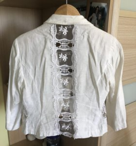 Пиджак итальянский льняной
