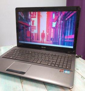 Отличный ноутбук для офиса Asus A52J
