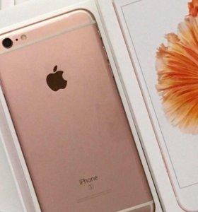 IPhone 6s 64 gb розовое золото