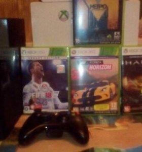 Xbox 360+геймпад
