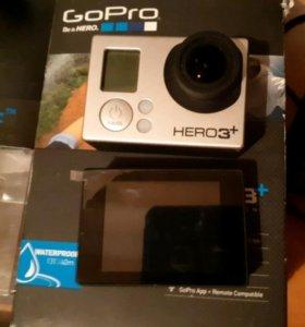 экш-камера Go Pro Hero 3+ / LCD BacPac