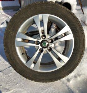 Комплект колес на дисках R16 (5*100)