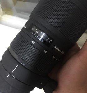 Sigma 70-200mm F2.8 APO EX DG macro HSM Canon