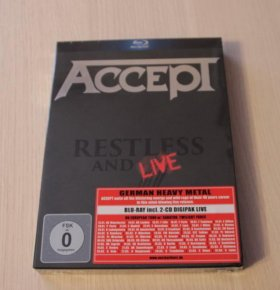 Accept - Restless And Live 2CD+ Blu-ray