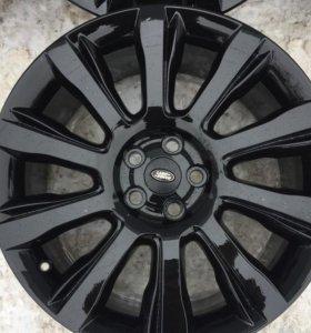 Оригинальные диски Land Rover Vogue R21 черные