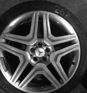 Комплект ориг. колес Mercedes benz ml r21 amg 6.3