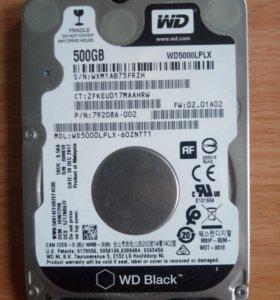Жесткий диск Wd Black 2.5 500Gb