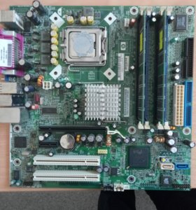 Мат плата с ПК HP Compaq DX6100 MT (SP 365864-001)