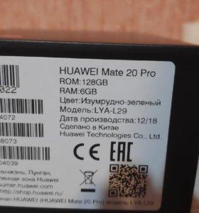 HUAWEI Mate 20 pro 6x128gb