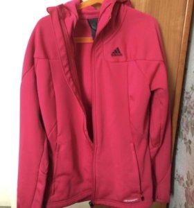 Кофта Adidas спортивная детская розового цвета
