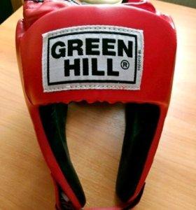 Шлем боксерский Green Hill Special красный (новый)