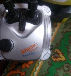 Аквариум фильтр внешний освещение
