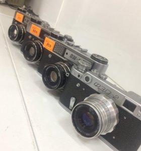 Фотоаппараты Фед 5, 5в, 2