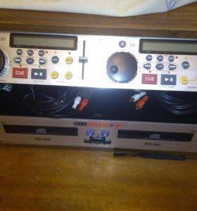 GEM sound CD 65 II & Behringer DX-626 Pro