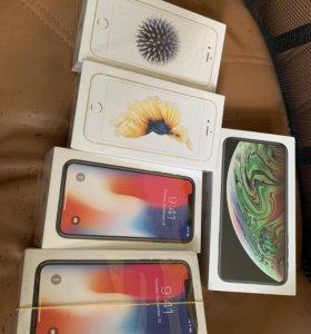 Новые apple iPhone XS Max,X,XS,6s,6