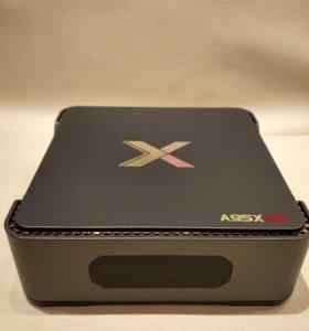 Тв бокс A95X max 4*64gb