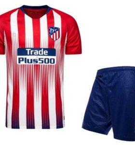 Форма Атлетико Мадрид (домашняя)
