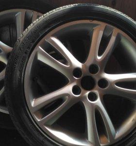 Два колеса Skoda / Шкода. 6 1/2 J x 16 H2 ET 43