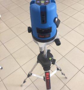 Лазерный уровень 5л Новый с гарантией