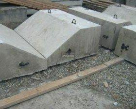 Утяжелители бетонные охватывающие типа (УБО)