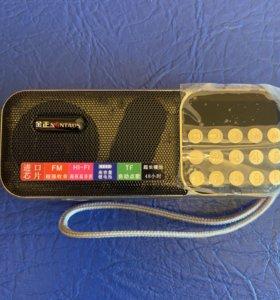 Радиоприёмник с mp3 на двух аккумуляторах 18650