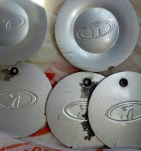 Колпачки на литые диски на ваз.
