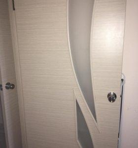 Двери межкомнатные, с коробом .