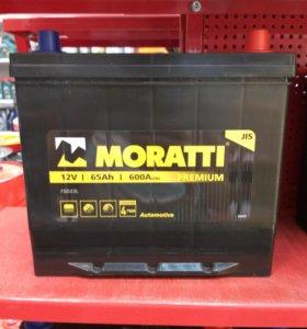 Аккумулятор MORATTI 65Ач