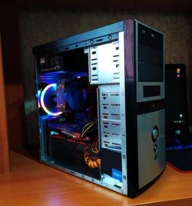 Игровой компьютер,системный блок 6 ядер