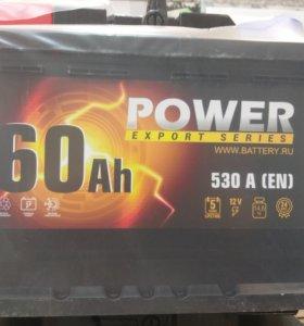 Аккумулятор POWER 60Ач