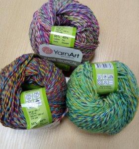Пряжа Jeans Tropical от Yarn Art