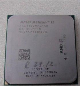 AMD Athlon II x4 631 -4 ядра -2.6 ггц -сокет FM1