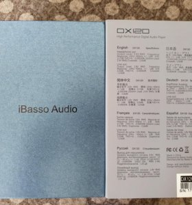 Аудиоплеер Ibasso dx120