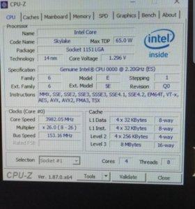 Мощный игровой пк i7 6400t 1060 3gb 12gb