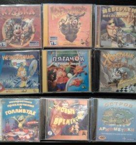 Продаю обучающие игры для WINDOWS 95/98/XP