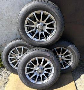Колеса R13 Зима Литье, 4*100, Michelin, 4 шт