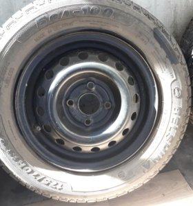 Колёса 175/70R13 сверлова 4×100