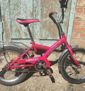 Продаётся велосипед детский на детей 3-7 лет