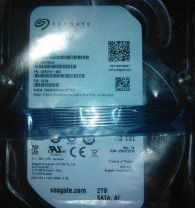 Новый жесткий диск для пк 2тб